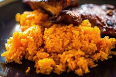 Delicious Red Rice #Guam  Let me know if you want the recipe.