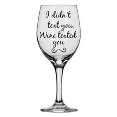 For when you got a little more communicative than you meant to. | 21 Wine Glasses You Actually Need In Your Life