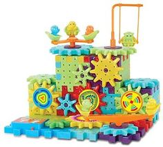 Interlocking Building Blocks and Gears - I'm not going to lie, this one is totally for me!  I can't wait to be able to play with something like this with the boys!  :)