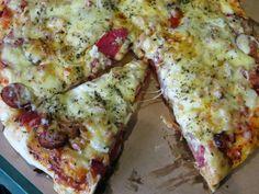 Domowe ciasta i obiady   Pizza ( puszyste ciasto drożdżowe)