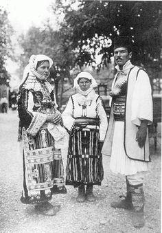 Serbian and Macedonian costume of Skopska Crna Gora, Macedonia
