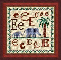 E is for Elephant (Rainbow Gallery)