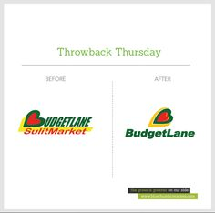 It's #throwbackthursday again!   Do you remember the old #logo for #Budgetlane #Supermarket?  New #design logo by Bluethumb Creative Agency www.bluethumbcreatives.com      #tbt #branding #creative #idea #bluethumbcreatives #inspiration