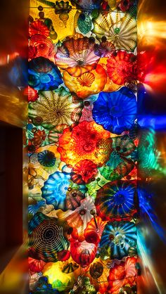 Dale Chihuly Persian Seaform Ceiling ~ Oklahoma City Museum of Art ~ http://www.flickr.com/photos/visualistimages/4413562231/