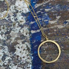 Nkuku Lalia Necklace in Gold