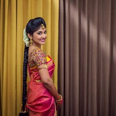 """"""" One of the best and top notch bridal designers of Coimbatore! Highly satisfied with their work as they are known for their uniqueness and style, I'm a very happy customer of Anya. Awaiting to get my other attires designed from them. """" says our dear customer Swathi. Thank you so much Swathi for sharing your thoughts with us! It has been our pleasure designing your engagement blouse and looking forward to design more beautiful attires for you!"""