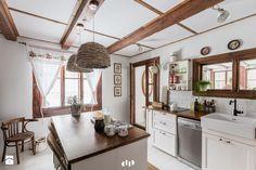 Kuchnia, styl kolonialny - zdjęcie od DZIURDZIAprojekt