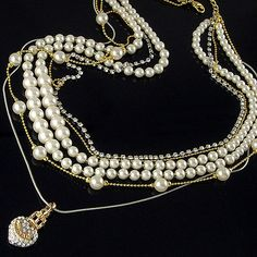 pearls, multiple strands