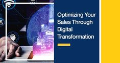 By incorporating digitalization, it transforms your sales. So, today we are going to discuss how digital transformation optimizes your sales. Marketing Data, Market Research, Lead Generation, Social Media, Digital, Growth Hacking, Infographics, Hacks, Tips