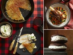 WSJ: The Best Après-Ski Recipes Ski-condo kitchens aren't always the best-equipped, but that shouldn't stop you from going for the gold when you come in from the cold. These recipes for Swiss rösti, lamb shanks with currants and chickpeas, and peppermint schnapps whoopie pies will warm and satisfy after a day on the slopes