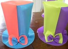 Resultado de imagen para cotillon loco Candy, Bar, Carnival, Crazy Hats, Hat Patterns, Jelly Beans, Manualidades, Fiestas, Sweets