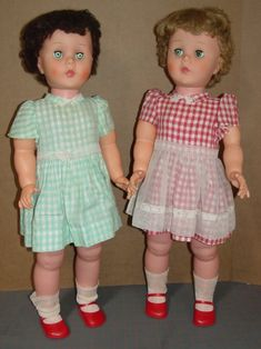 Kissy Doll. They look possessed though...