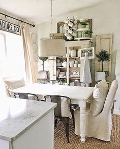 dining room farmhouse decor