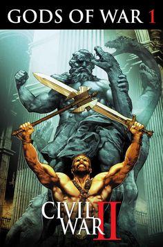 Hercules Takes Up Arms In CIVIL WAR II: GODS OF WAR!