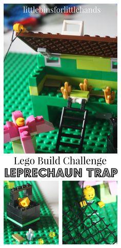 Lego Leprechaun Trap St. Patrick's Day Building Challenge