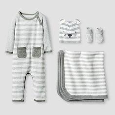 10c5159b5 Baby Organic Sweater Romper, Hat, Bootie and Blanket Set Baby Cat & Jack™