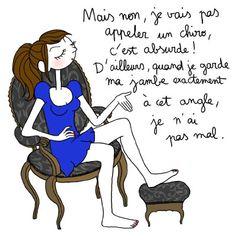 Ça ressemble pas mal à une sciatique Bff, My Past Life, Mind The Gap, Funny Illustration, French Language, What Is Life About, Kids Girls, Illustrators, Family Guy