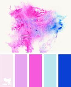 Summer Splash - http://design-seeds.com/index.php/home/entry/summer-splash