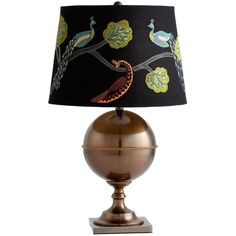 I like this lampshade - Vanderbilt Table Lamp from the Design Report: Taurus event at Joss and Main!