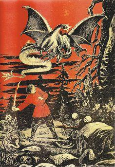 'Has He the Strength...?'. 'Zarevo' No.3, 1906. by Sam's Myth