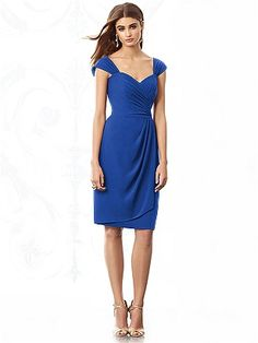 After Six Bridesmaids Style 6687 http://www.dessy.com/dresses/bridesmaid/6687/