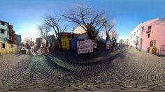 Pagani, La Boca y Caminito en realidad virtual