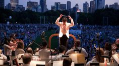 New York Philharmonic: Concerts in the Parks. July 10 in Prospect Park.