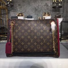 Add to the closet the Louis Vuitton Monogram Canvas Surene MM Cherry Bargain price at USD Free Worldwide Shipping by courier to your address. Louis Vuitton Totes, Louis Vuitton Handbags, Louis Vuitton Monogram, Handbags On Sale, Luxury Handbags, Purses And Handbags, Chanel Handbags, Designer Handbags, Designer Bags