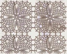Ivelise Feito à Mão: Quadrados Lindos De Crochê