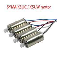 4PCS/Lot Syma X5UC X5UW RC Drone Spare Parts Original Main Motor Motors CW CCW Engine Replacements Accessories //Price: $14.38 & FREE Shipping //     #DRONES