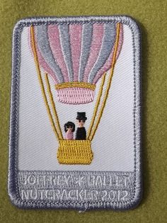 Girl Scouts Greater Chicago and Northwest Anniversary year patch. Joffrey Ballet Nutcracker Thank you, Talli. Girl Scouts Usa, Joffrey Ballet, Badges, Patches, Chicago, Anniversary, Badge