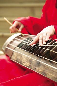Korean traditional music instrument