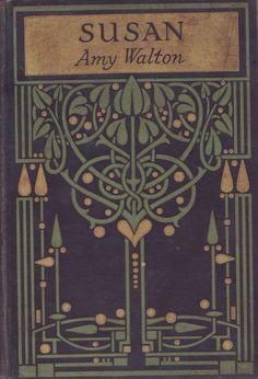 Art Nouveau Glasgow School book design (An original highly-stylized Art Nouveau design for a book binding, attributed to leading Glasgow. Motifs Art Nouveau, Azulejos Art Nouveau, Design Art Nouveau, Art Nouveau Tiles, Art Design, Art Nouveau Wallpaper, Art Nouveau Pattern, Book Cover Art, Book Cover Design