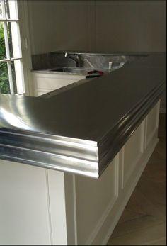 """Stainless Steel Sheet Metal 304 #4 Brushed Finish 16 Gauge//0.060/"""" 36/"""" x 2/"""""""