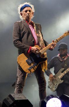Keith Richards, The Rolling Stones. #KeithRichards #MickJagger #StonesIsm #PattiHansen #CrosseyedHeart