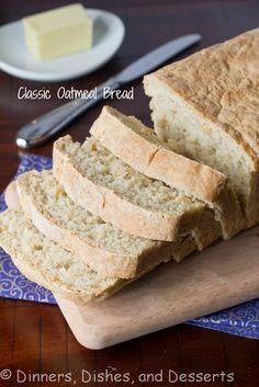 Classic Oatmeal Bread