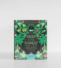 With over 50 exotic animals to find 'Deep in the Forest' book takes the reader through exciting colourful forest scenes to explore those that live Forest Book, Can You Find It, Albin Michel, Okapi, Childrens Books, Kid Books, Baby Books, In The Tree, All The Way Down