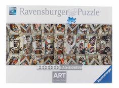 Ravensburger Puzzle da 1000 pz Michelangelo Volta della Cappella Sistina Puzzle 1000, Michelangelo, Photo Wall, Frame, Ebay, Art, Picture Frame, Art Background, Photograph