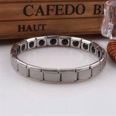 men energy bracelet   titanium steel bracelet