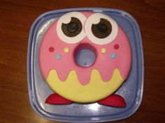 Oddie the Moshi Monster cake made for my sons 8th Birthday