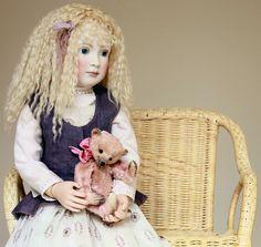 Emilia & Old Rose | by Hidden House Dolls & Bears