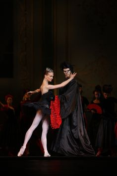 Swan Lake, Odile and Rothbart