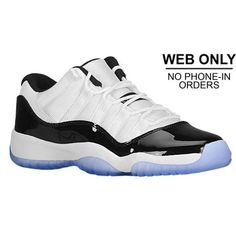 834d32377e1 Jordan Retro 11 Low - Boys  Grade School - White Black Dark Concord Look at  these beauty s 😍. KeVauhn Francis · Foot Locker