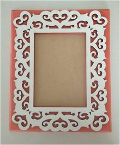 Wooden Scroll Wall Frames 5x7 by RachelRaeDesigns on Etsy