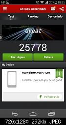 #Huawei #P7 #Benchmark #Antutu