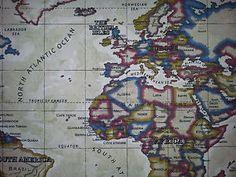 Atlas world map antique prestigious designer fabric i want this prestigious fabric atlas map world antique cotton curtain material gumiabroncs Gallery