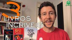 3 LIVROS INCRÍVEIS QUE PODEM MUDAR SUA VIDA! - 3 Incredible Books