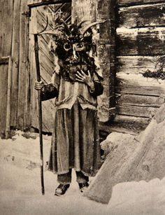 "deathandmysticism: ""Perchta mask, Austria, early 20th century """