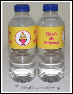 Shop Online PERSONALISED GIRLS MINIONS Party Decorations. Water Bottle ...  sc 1 st  Pinterest & Shop Online PERSONALISED PETER RABBIT Party Decorations | Elephant ...