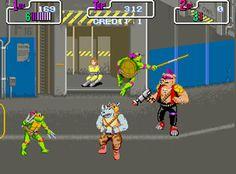 Teenage Mutant Ninja Turtles NES Game
